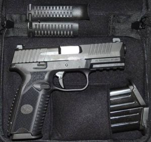 FN 509 WITH NIGHT SIGHTS, 9MM